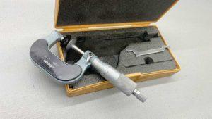 Mitutoyo No 123-125A 0 – 1″ .001″ Micrometer
