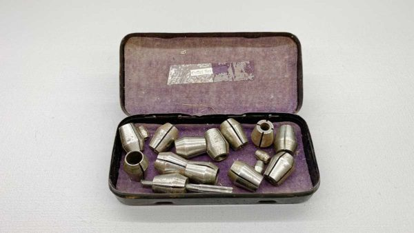 15 Piece Collet Set In Metal Box