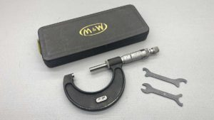 """Moore & Wright No 966 Micrometer 1"""" - 2"""""""