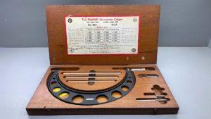 """Starrett No 224B 6 - 9"""" Micrometer IOB"""