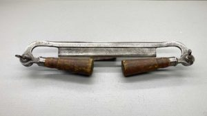 "Lakeside USA Folding Drawknife Good Handles 8"" Edge"