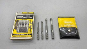 General USA S-97 Small Hole Gauges, new old stock, in original box