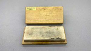 "Brookstone USA Arkansas Sharpening Stone Measuring 5"" x 2"""
