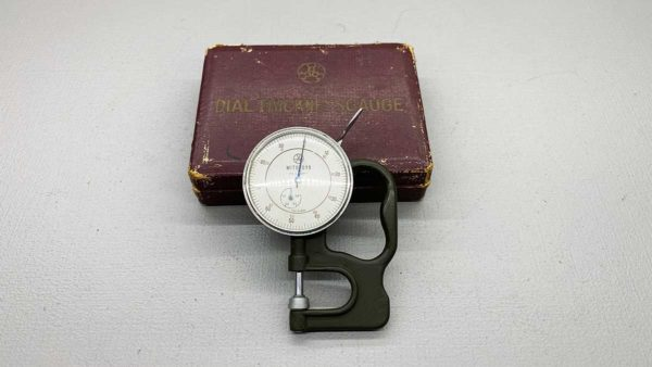 Mitutoyo Japan Dial Thickness Gauge In good Condition