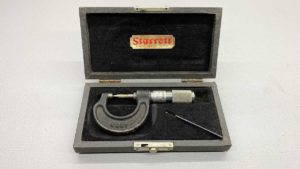 """Starrett USA Special 0 - 1"""" Point Micrometer Marketed As The eddy"""
