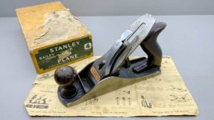 Stanley No 4 Bench Plane IOB Made In England