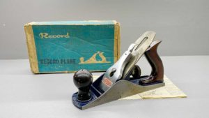 Record No4 bench Plane IOB In Good Condition With Logo Great tote and Knob
