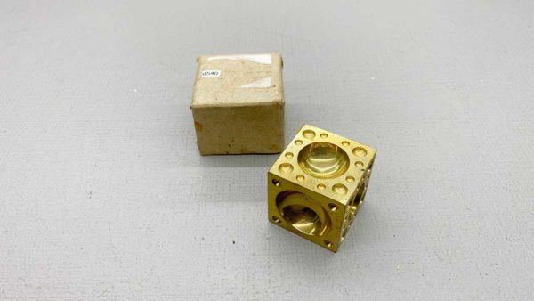 Jewellers Solid Brass Dapping Block