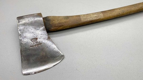"""Crown 2 1/2 Pound German Made Axe and Handle Has a 4"""" Edge x 6 3/4"""" long"""
