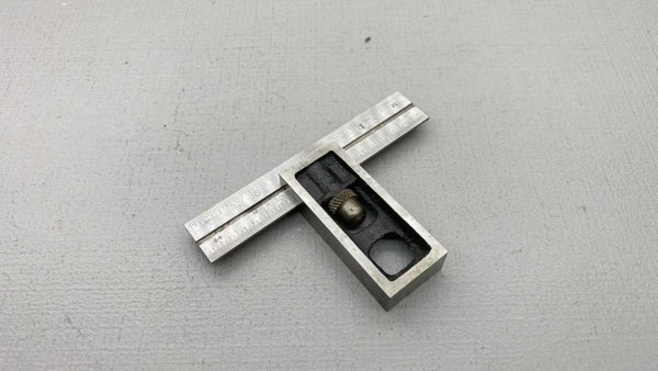 "Precise England 4"" Adjustable T Square"