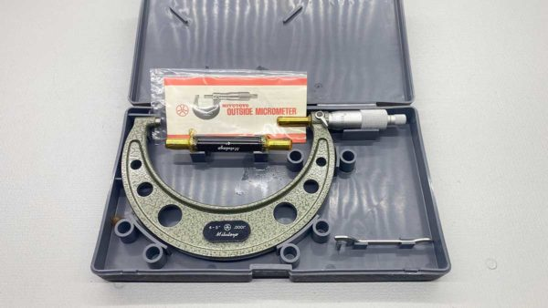 "Mitutoyo No 103-219a Micrometer 4""- 5"""