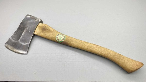 "Glassport Vintage American Axe & Tool Company 3 3/4"" Edge Quality Eagle Handle"
