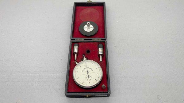 Vintage Jagabi Speed Test Indicator With 4x Adaptors IOB
