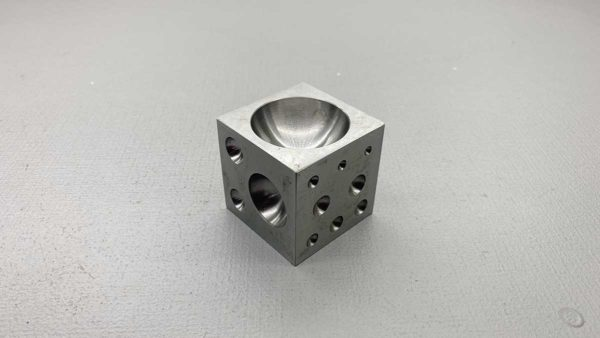 Jewellers Solid Steel Dapping Block NOS