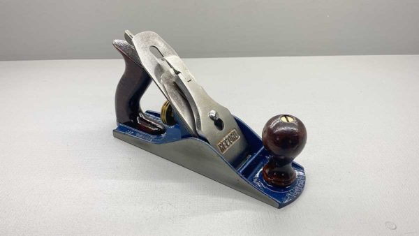 Record No 4 Bench Plane Original Cutter Good Tote and Knob Made In England