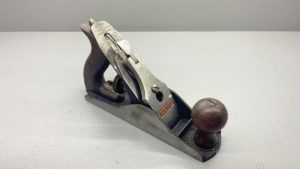 Record No 3 Bench Plane Made In England Good Tote and Knob Uncleaned