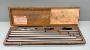 Lufkin No 681 Inside Micrometer Set In Good Condition IOB