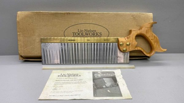 Checkout this Lie Neilson Tapered Tenon Saw 13 PPI Crosscut Hardly Used In Good Condition IOB