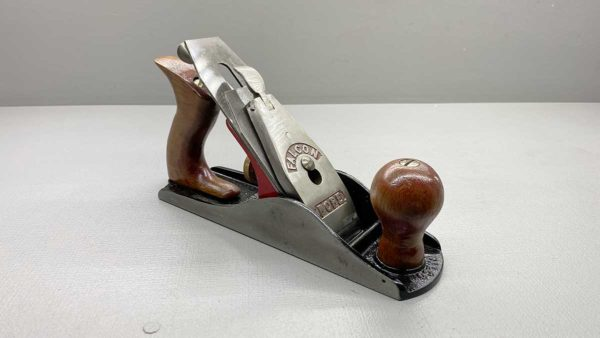 "Falcon Pope 6"" Bench Plane In Good Condition Nice Tote and Knob"