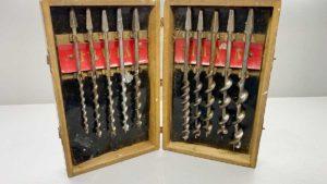 Irwin 10 Piece Auger Bit Set In Original Box In Good Condition
