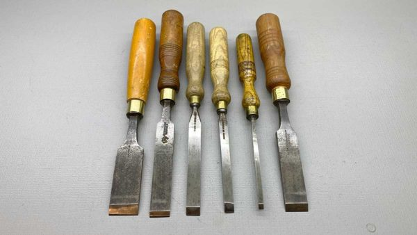 Carving Chisels Made Up Set Of English Makers