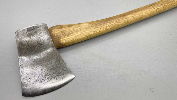 """Sater Banco Axe And Handle With 4 1/2"""" Edge Nicely Balanced Great shape to this handle"""