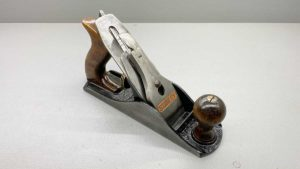 Stanley Bailey No 4 Bench Plane Good Length To Cutter In Good Condition