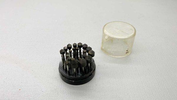 30 Good Quality Jeweller's Burrs In Original Box