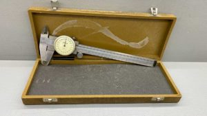 "Mitutoyo 6"" Dial Vernier In Good Condition"