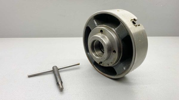 "South Bend 4-Jaw Independent Chuck 6"" Capacity Fitted for 9"" lathe"