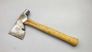 Stanley No 22 Hatchet With Hammer Head Is well balanced