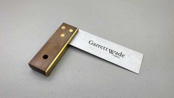 "Garrett Wade 6"" Carpenters Square Little Used"