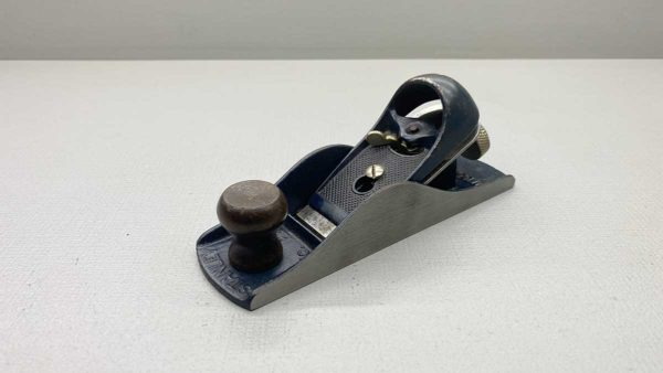 Stanley USA No 220 Block Plane Blue In Colour In Good Condition