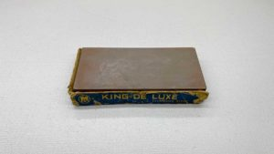 "King De Luxe Red Fine Sharpening Stone 2 3/4 x 6"" Long"