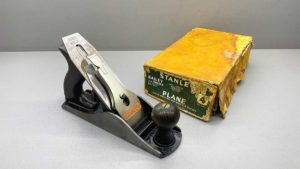 Stanley Bailey No4 Bench Plane In Top Condition IOB Great tote and Knob