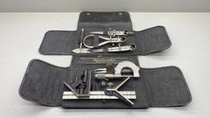 Starrett USA Apprentice Tool Kit In The Case