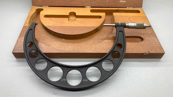 Brown & Sharpe USA 175-200mm Micrometer In Good Condition