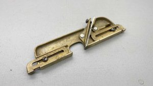 Brass Rabbet Plane Patent Applied For Uncleaned