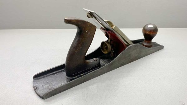 """Millers Falls USA Size 5 1/2 Smoothing Plane with original Cutter and Logo 2 1/4"""""""