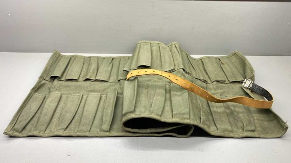Massive Canvas Chisel Roll In Good Condition