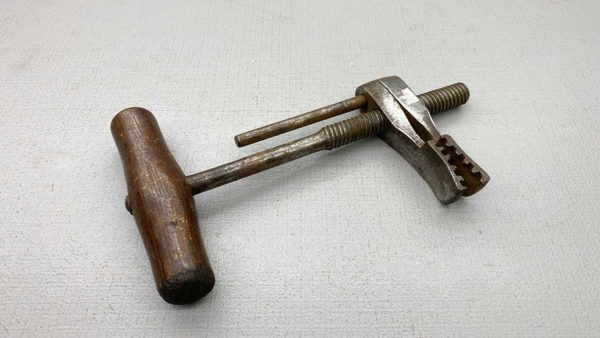 Vintage Leather Clamp 35mm Teeth Length 210mm Overall Length