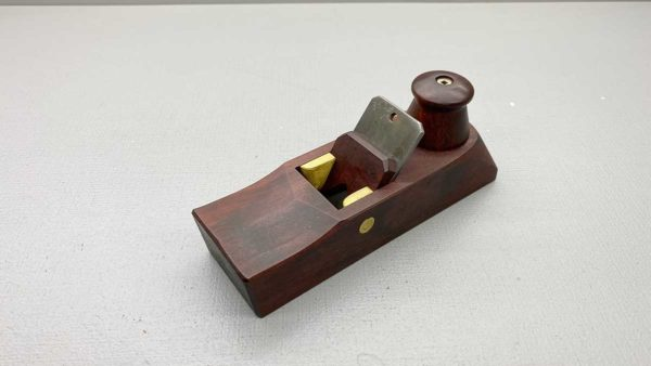 HNT Gordon Block Plane High Pitch 55 Deg Blade Can be Reversed and used as a Cabinet Scraper