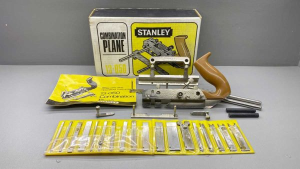 Stanley Combination Plane No 13-050 With Cutters