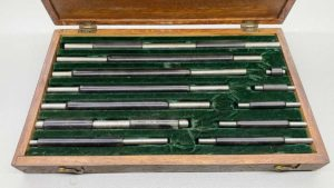 "Starrett USA Micrometer Measuring Set 1""-12"""