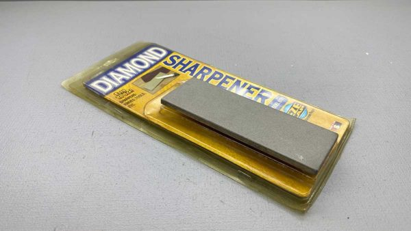 Sharpening Stone By Eze Lap Diamond Made In USA Is New Old Stock measuring 6 x 2 Inches Fine Grit