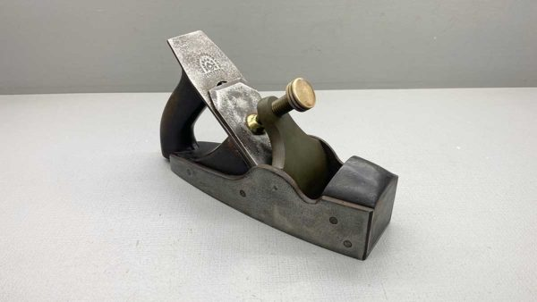 Vintage Infill Smoothing Plane With Mathieson Cutter