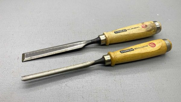 Stanley 10mm Gouge & 20mm Bevel Edged Chisels