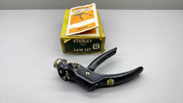 Stanley No 42 Sawset In Original Box In Good Condition