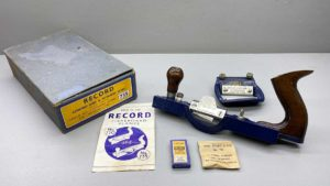 Record No 735 Combined Hard & Softboard Plane In As New Condition