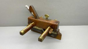 """E. Peirce Wooden Plough Plane With 1/2"""" Cutter"""